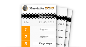 Marvin for ZOHO strippenkaart